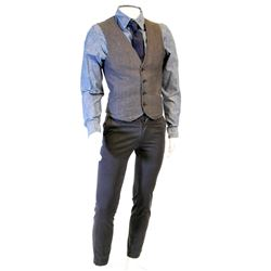 """""""The Huntsman"""" vest and slacks ensemble from Once Upon a Time Season 1, Episode 5."""