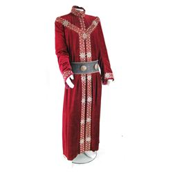 """""""King George"""" crimson robe ensemble from Once Upon a Time Season 1, Episode 6."""