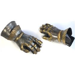 """""""King Midas"""" gauntlets from Once Upon a Time Season 1, Episode 6."""