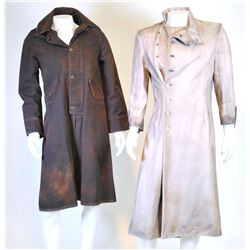 """Dr. Jekyll"" and ""Mr. Hyde"" costume ensembles from Once Upon a Time Season 5, Episode 23."
