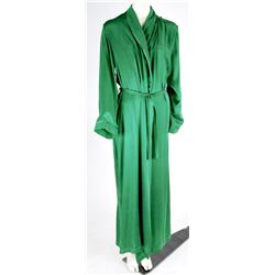 """""""Zelena"""" green silk robe from Once Upon a Time Season 6, Episode 2."""