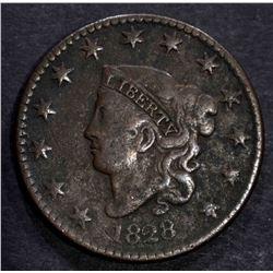 1828 LARGE CENT VERY FINE
