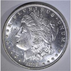 1878 7/8 TF STRONG MORGAN DOLLAR  CH BU