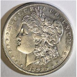 1893-CC MORGAN DOLLAR  CH BU
