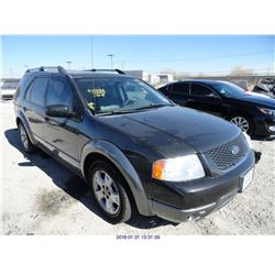 2007 - FORD FREESTYLE // REBUILT SALVAGE
