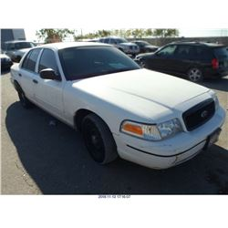 2001 - FORD CROWN VICTORIA