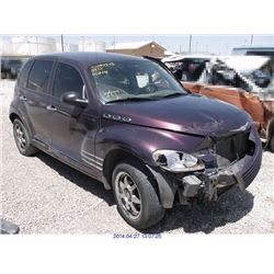 2005 - CHRYSLER PT CRUISER // REBUILT SALVAGE