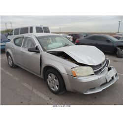 2009 - DODGE AVENGER // REBUILT SALVAGE