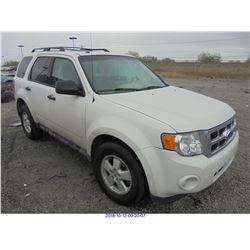 2012 - FORD ESCAPE