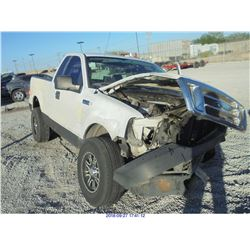 2008 - FORD F-150 // REBUILT SALVAGE