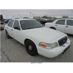 2005 - FORD CROWN VICTORIA // TEXAS TITLE