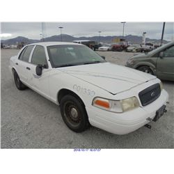 2001 - FORD CROWN VICTORIA // TEXAS TITLE