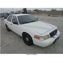 2007 - FORD CROWN VICTORIA // TEXAS TITLE