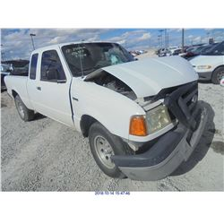 2004 - FORD RANGER // REBUILT SALVAGE