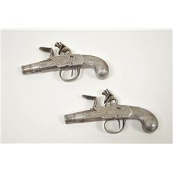 18PZ-19 ALL METAL FLINTLOCK PAIR