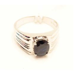 18RPS-47 BLUE SAPPHIRE RING
