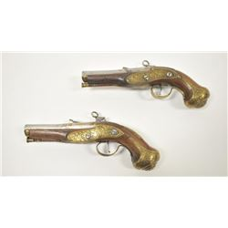 18PZ-14 PAIR MIQUELET FLINTLOCKS