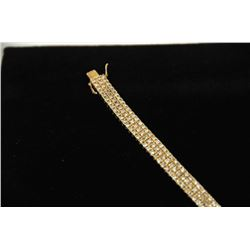 18PD-1 DIAMOND TENNIS BRACELET