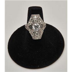 18RPS-35 CARTIER DIAMOND RING