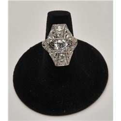 18RPS-35 CARTIER DIAMOND RING