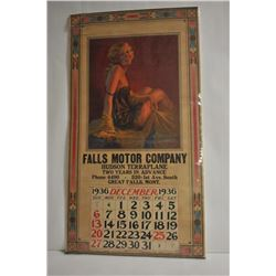 18PG-40 FALLS MOTOR CO ADVERTISER