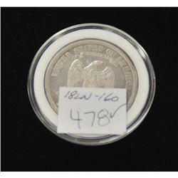 18LN-1-160 1877 TRADE DOLLAR