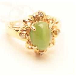 18RPS-46 CHRYSOBERYL CATS EYE