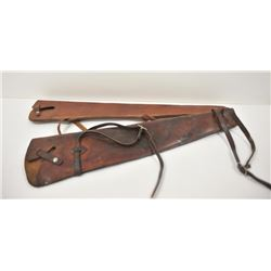 18PG-109 LEATHER RIFLE SCABBARDS