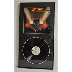 18ON-11 REAL ALBUM ART OF ZZ TOP