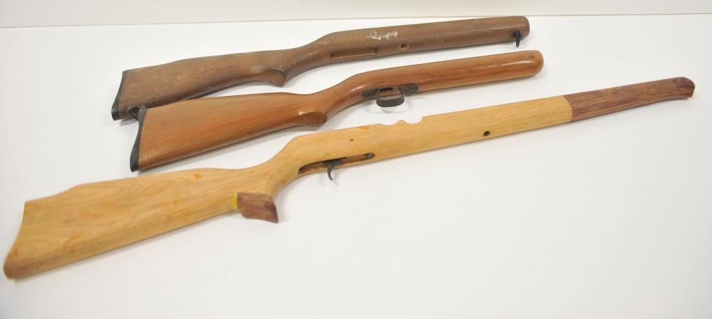 18NN-59 AIR RIFLE STOCK LOT