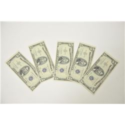 18LN-1-185 $5 SILVER CERT