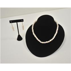 18LN-1-149 NECKLACE EARRING SET