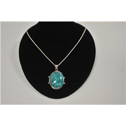18LN-1-147 TURQUOISE NECKLACE
