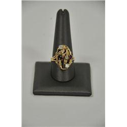 18RPS-20 RUBY  DIAMOND RING