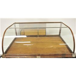 18NV-36 BOWFRONT DISPLAY CASE