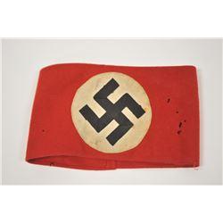 18MJ-11 WWII NAZI PARTY ARMBAND
