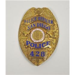 18PL-3 POLICE OFFICER BADGE