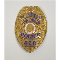 18PL-3 POLICE OFFICER BADGE
