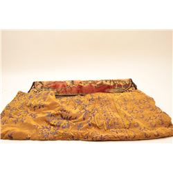 16MCB-29 ELK TAPESTRY W/ANTIQUE TABLE CLOTH
