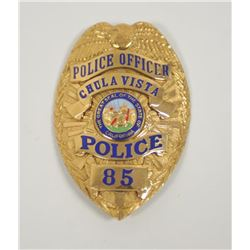 18PL-2 POLICE OFFICER BADGE