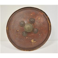18OO-8 INDIAN LEATHER SHIELD