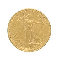 COIN: [1] 1986 U.S. American Eagle coin; 1oz fine gold; 34.0 grams.