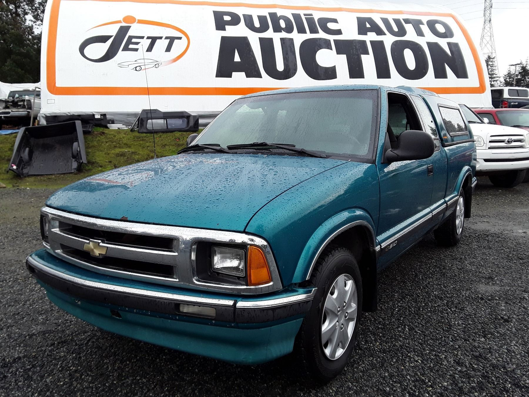 A4 1994 Chevrolet S10 Ls Green 261493 Km S