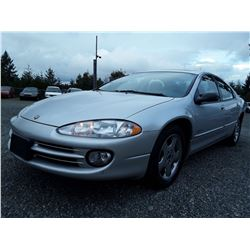 A2 --  2002 Chrysler Intrepid R/T , Silver , 133921  KM's