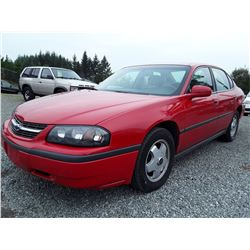 L5 --  2004 Chevrolet Impala , Red , 190430  KM's