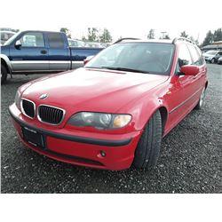L6 --  2004 BMW XI , Red , 237977  KM's