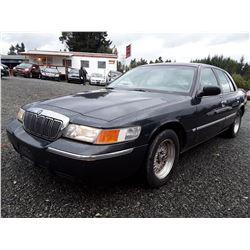 M1 --  1998 Mercury Grand Marquis , Green , 94192  KM's