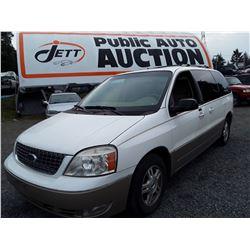 M2 --  2004 Ford Freestar , White , Unknown  KM's