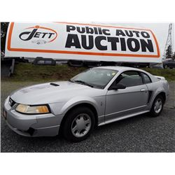 N1 -- 2000 FORD MUSTANG, COUPE, GREY, 235100 Km's