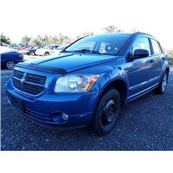 J1 --  2007 Dodge Caliber SXT , Blue , 158469  KM's